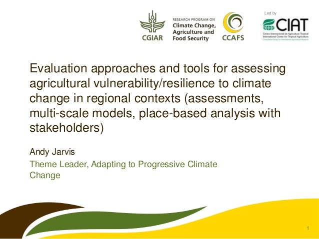 Wicked Solutions to Climate Smart Agriculture