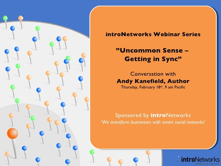 Getting in Sync - Conversation with Andy Kanefield