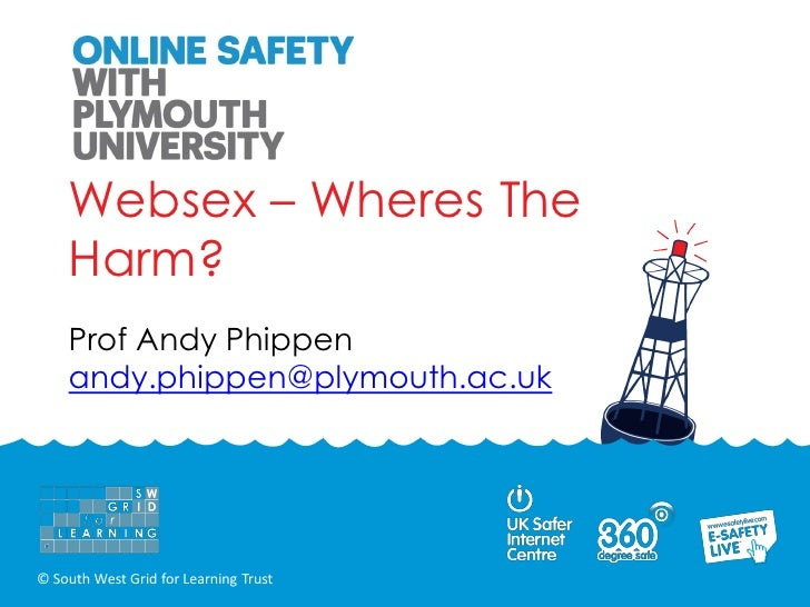 Websex – Wheres The    Harm?    Prof Andy Phippen    andy.phippen@plymouth.ac.uk© South West Grid for Learning Trust