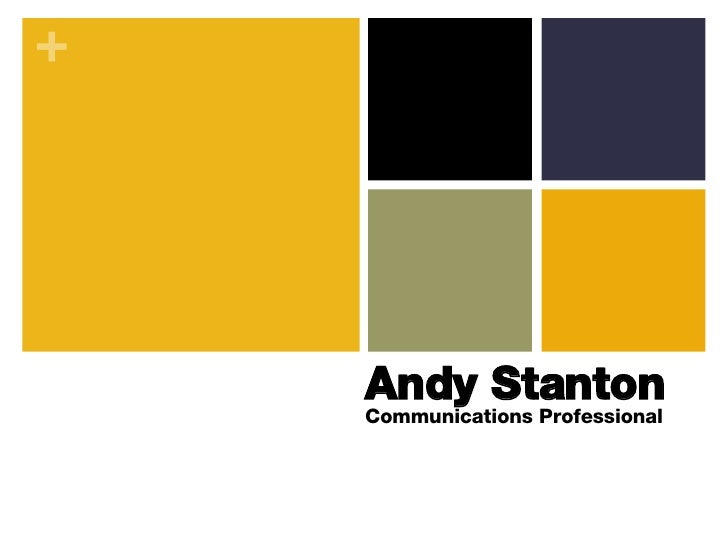 Andy Stanton Communications Professional
