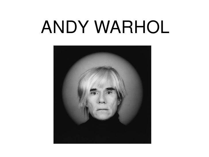 ANDY WARHOL<br />