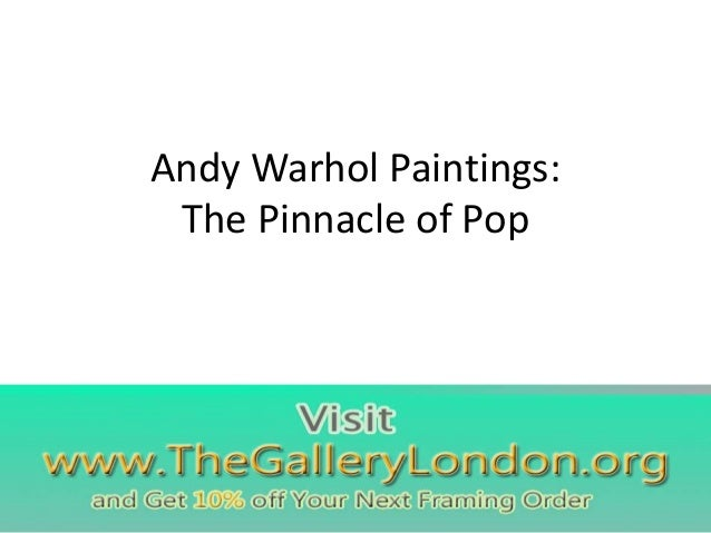 Andy warhol paintings