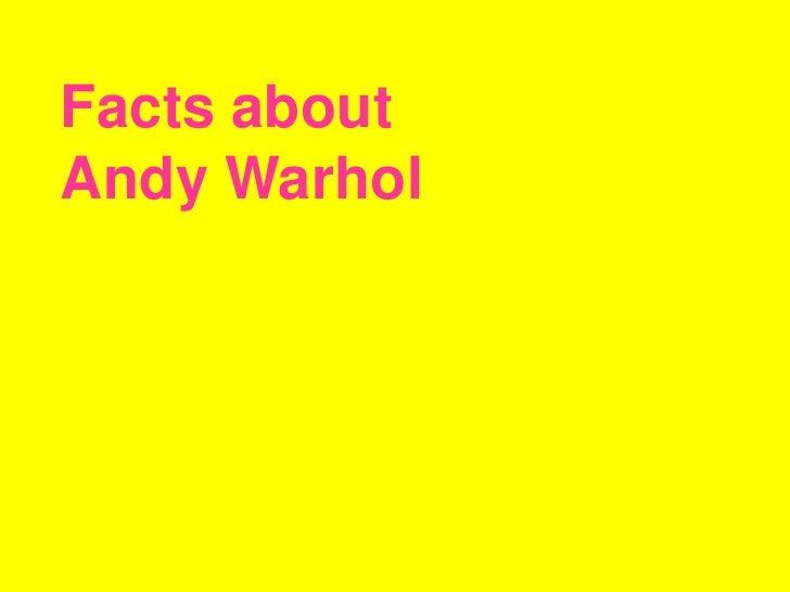 Andy Wharhol
