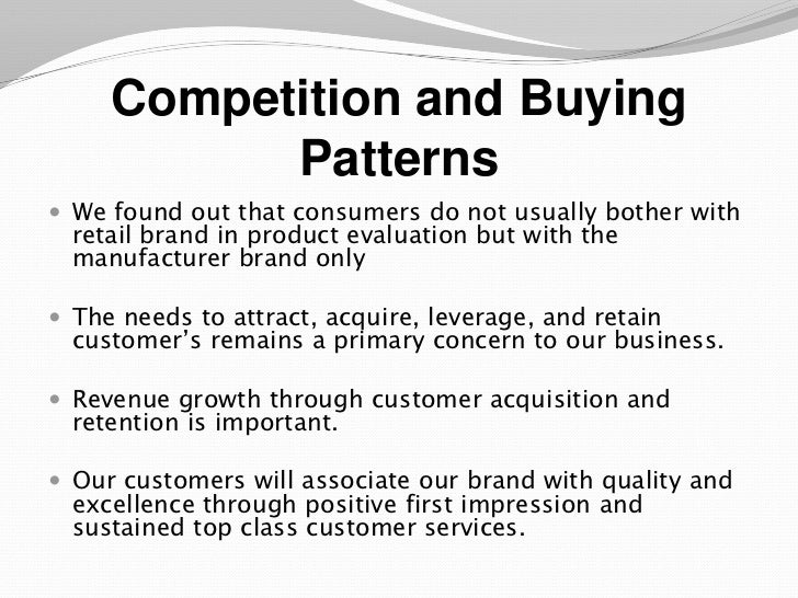 Business plan for buying a business