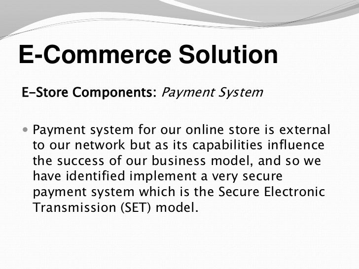 Business plan for an online store