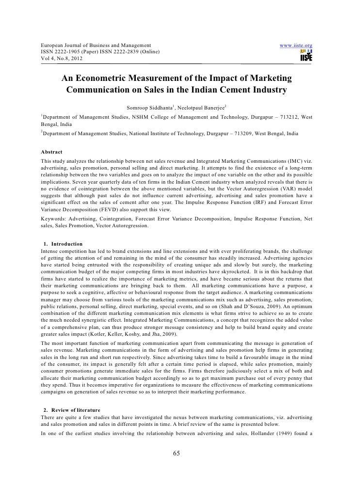 European Journal of Business and Management                                                            www.iiste.orgISSN 2...