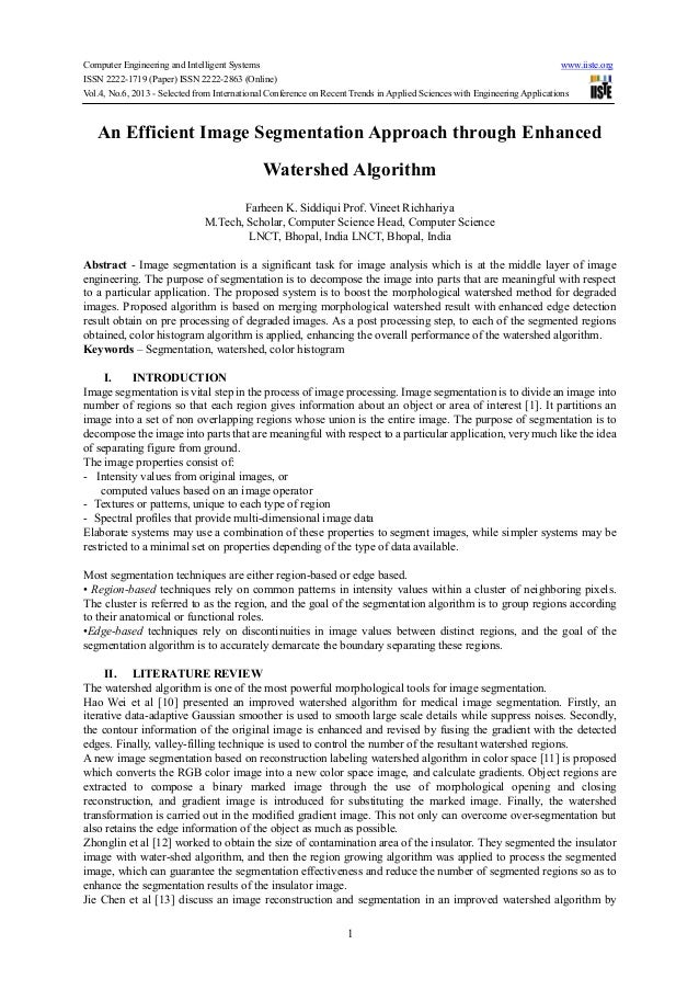Computer Engineering and Intelligent Systems www.iiste.orgISSN 2222-1719 (Paper) ISSN 2222-2863 (Online)Vol.4, No.6, 2013 ...