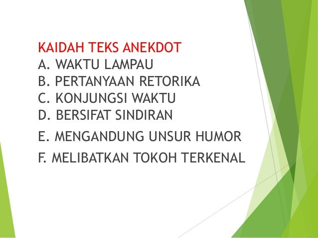 Image Result For Contoh Teks Anekdota