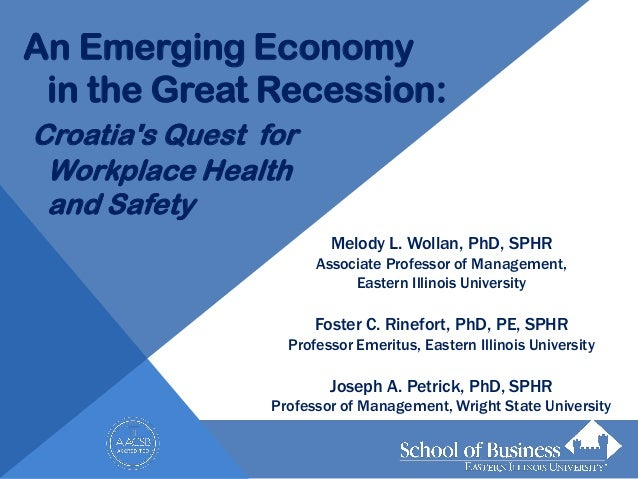 An emerging economy in the great recession