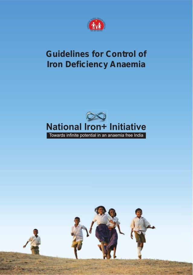 Guidelines for Control of Iron Deficiency Anaemia