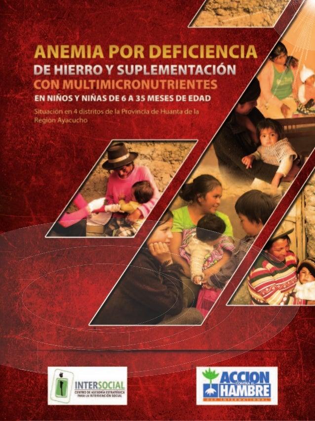 Situación en 4 distritos de la Provincia de Huanta de la Región Ayacucho                             Con el apoyo financie...