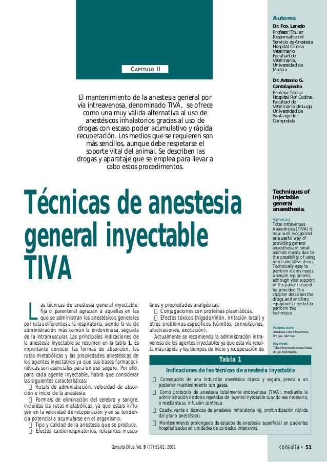 Anestesia tiva