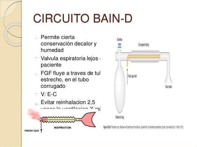 Circuito Bain : Anestesiologia pediatrica