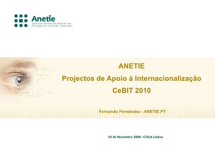 Anetie Ccila Cebit 2010   Nov09