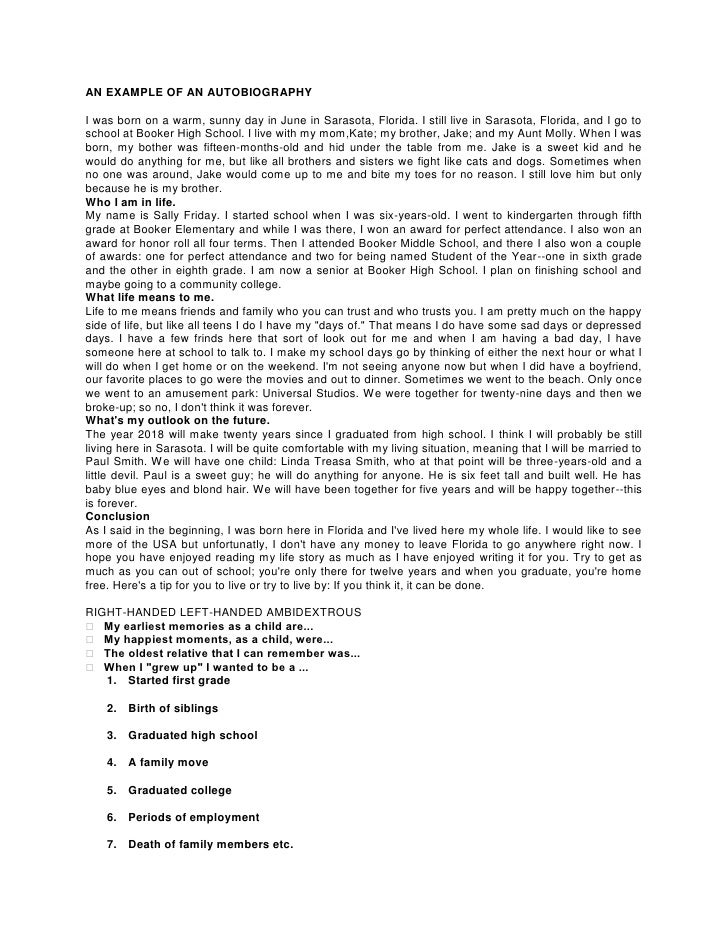 Father Biography Essay Examples - image 8