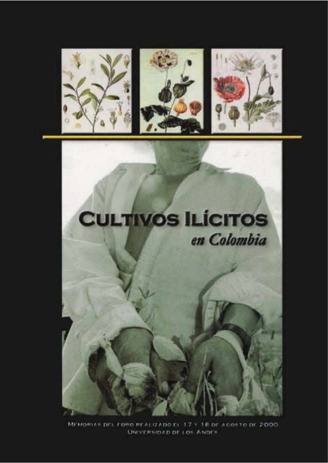 Cultivos IlícitosCultivos         en Colombia