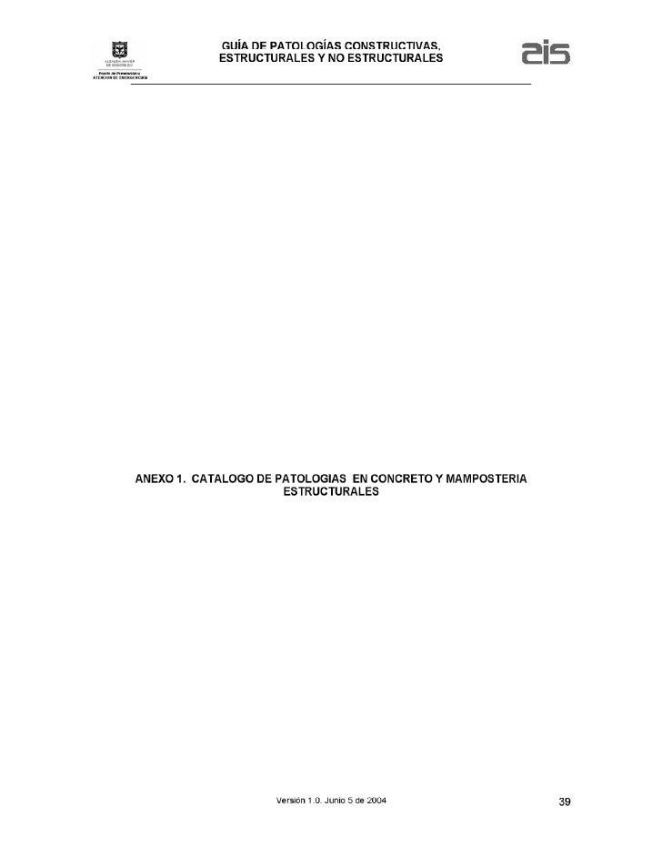 Anexo1 a patologias concreto y mamposterias estructurales