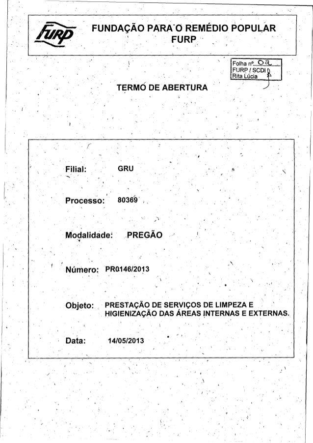 Solicitação de Coiitratação  GRU  Consolidada ' Area Solicitante - CC : 4311.  N°  Data Emissão: 14/ 05/ 2013  126412  SEÇ...