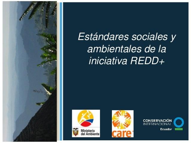 Anexo 5. Estándares Sociales y Ambientales