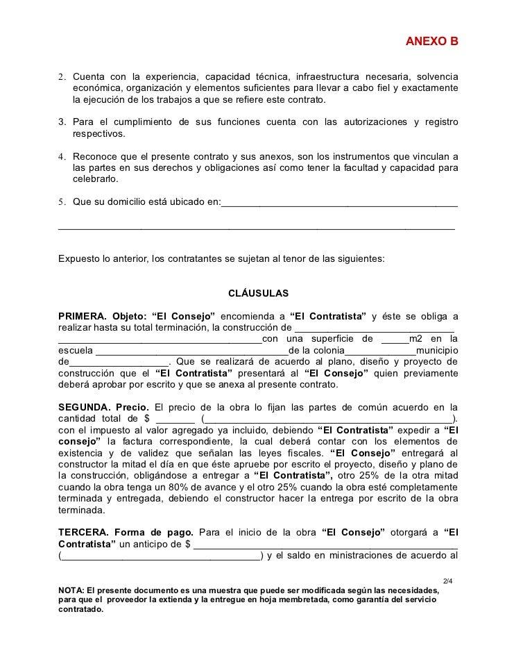Formato contrato individual trabajo por obra determinada for Formato de contrato de trabajo