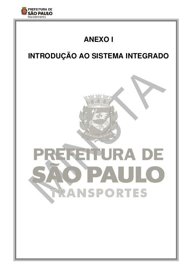 ANEXO IINTRODUÇÃO AO SISTEMA INTEGRADO