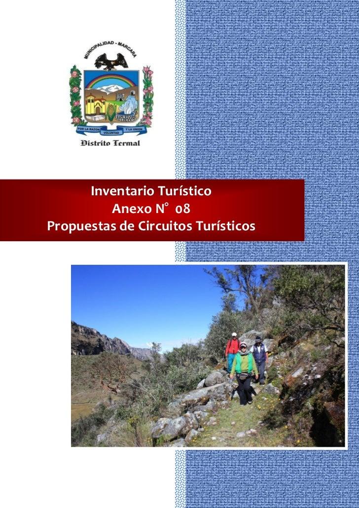 Inventario Turístico         Anexo N° 08Propuestas de Circuitos Turísticos                     372