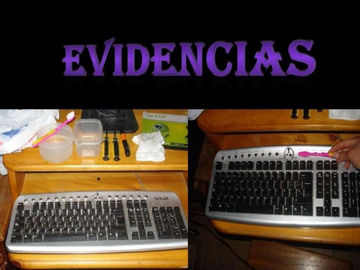 EVIDENCIAS<br />