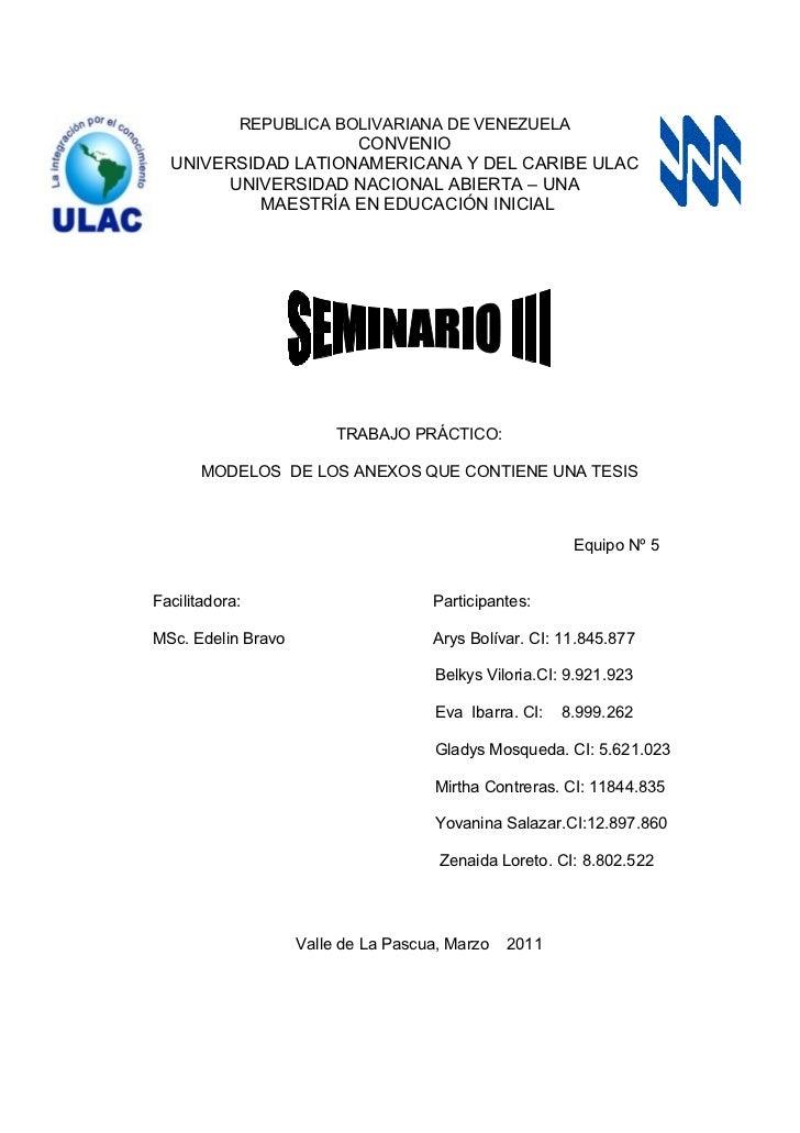 REPUBLICA BOLIVARIANA DE VENEZUELA                    CONVENIO  UNIVERSIDAD LATIONAMERICANA Y DEL CARIBE ULAC       UNIVER...