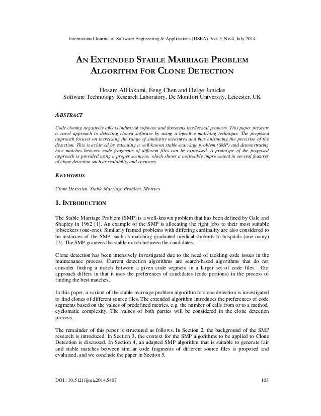 International Journal of Software Engineering & Applications (IJSEA), Vol.5, No.4, July 2014 DOI : 10.5121/ijsea.2014.5407...