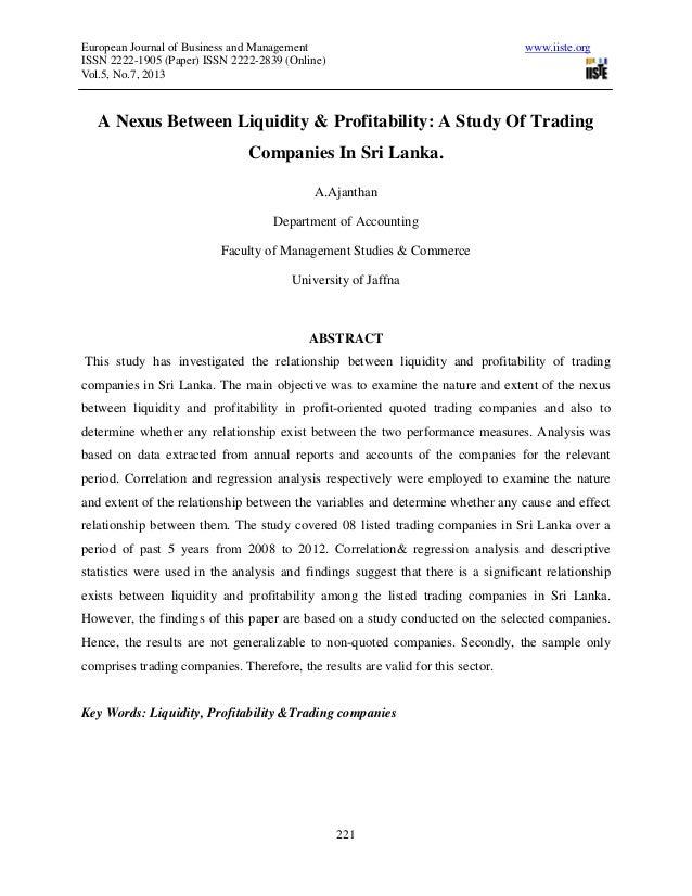 European Journal of Business and Management www.iiste.orgISSN 2222-1905 (Paper) ISSN 2222-2839 (Online)Vol.5, No.7, 201322...