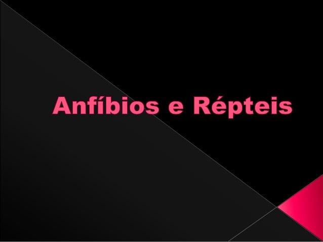 Os anfíbios constituem uma classe de animais vertebrados, pecilotérmicos que não possuem bolsa amniótica agrupados na clas...