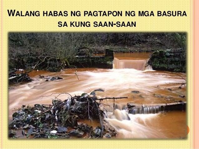 sanhi at dahilan ng land conversion Maaaring sanhi ito ng pagkakalbo ng bundok at pagmimina (kagaya ng dahilan kung bakit naging mapaminsala ang bagyong ondoy)  maaaring ang dahilan ng climate.