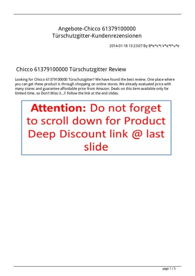 Angebote chicco-61379100000-turschutzgitter-kundenrezensionen