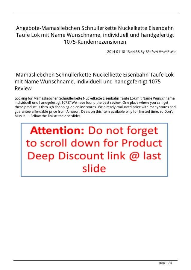 Angebote-Mamasliebchen Schnullerkette Nuckelkette Eisenbahn Taufe Lok mit Name Wunschname, individuell und handgefertigt 1...