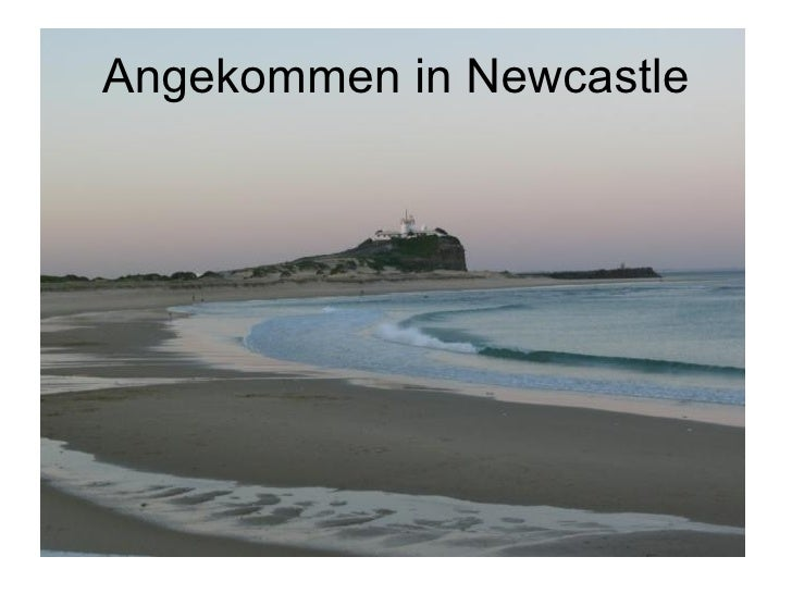 Angekommen in Newcastle