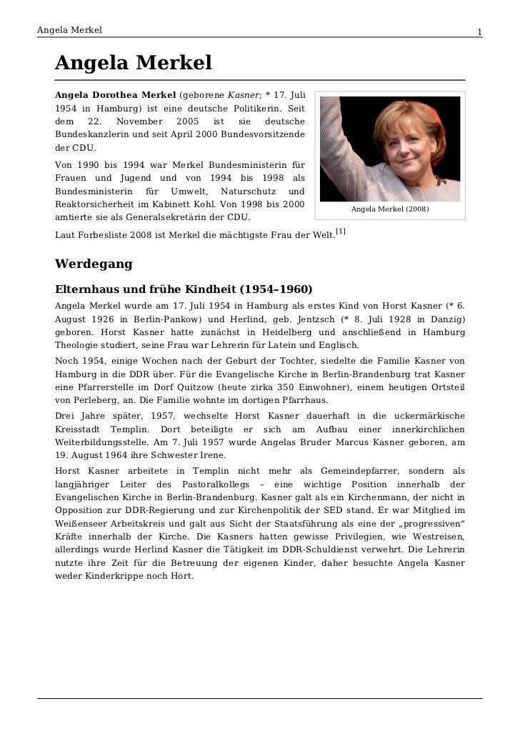 Angela Merkel                                                                                  1   Angela Merkel   Angela ...