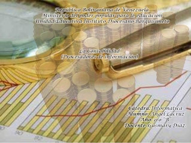 Principios de la                                                contabilidadNegocio        Período      Conservatis       ...