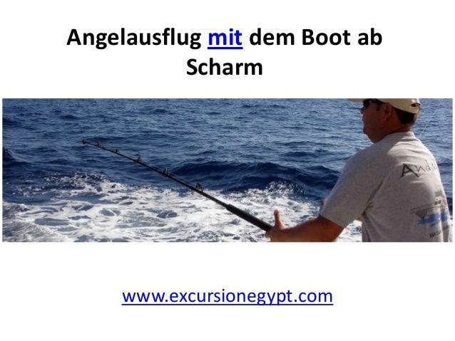 Angelausflug mit dem Boot ab Scharm  www.excursionegypt.com