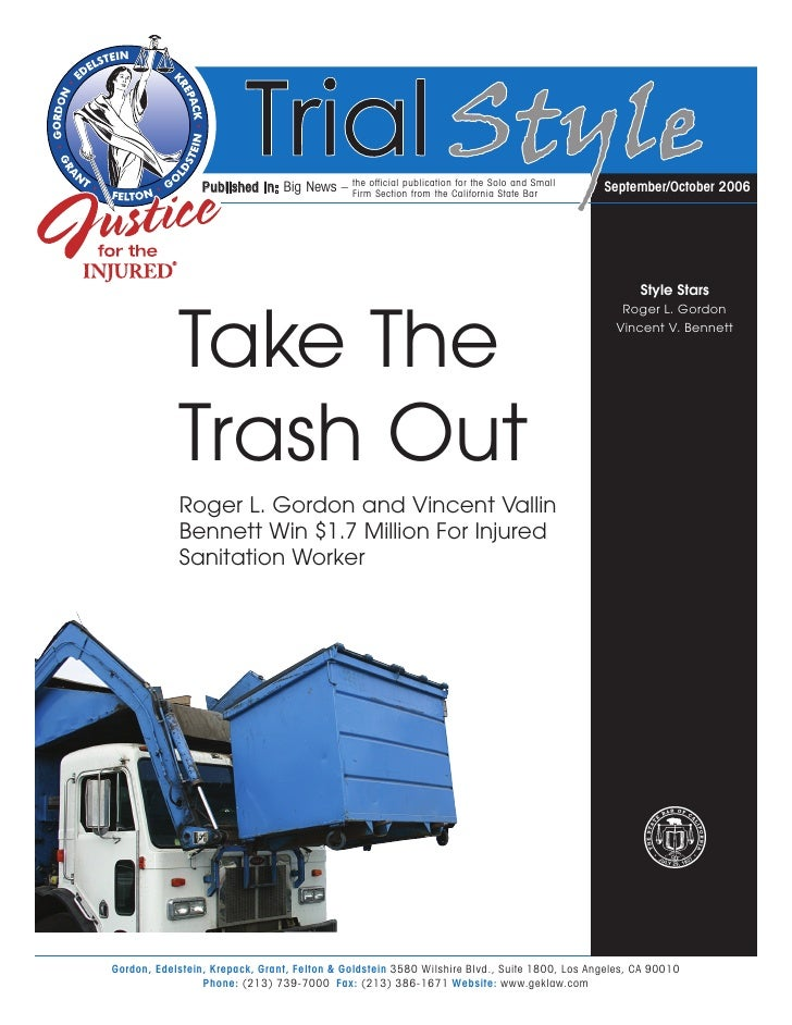the official publication for the Solo and Small                  Published in: Big News –    Firm Section from the Califor...