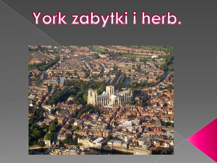 York zabytki i herb.<br />