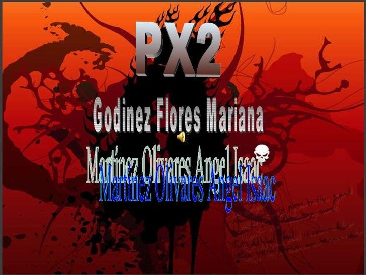 Martínez Olivares Angel Isaac PX2 Godinez Flores Mariana