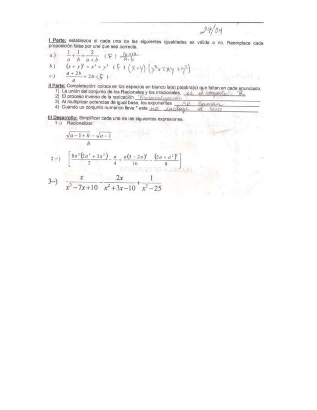 [ Barre;  estabvezca si cada una de las siguientes lgualdades es válida o no.  Reemp-lace cada proposición falsa por una q...
