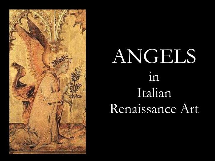 Renaissance Angel Painting Angels in Renaissance Art