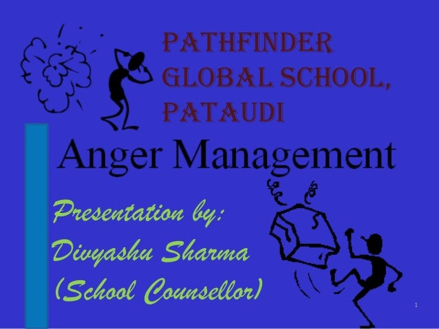 Anger management in students