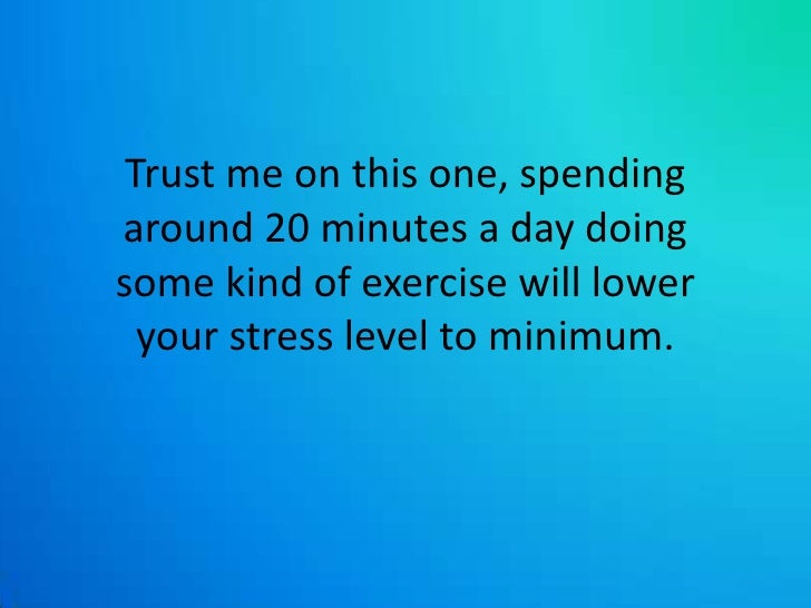 Lower Your Stress Level 21 By Doing THIS