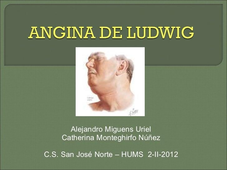 Alejandro Miguens Uriel Catherina Monteghirfo Núñez C.S. San José Norte – HUMS  2-II-2012