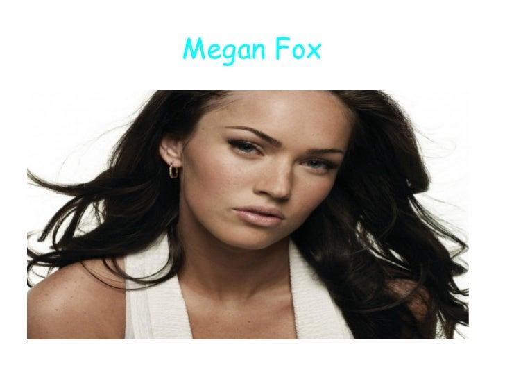 Anglais megane fox alison