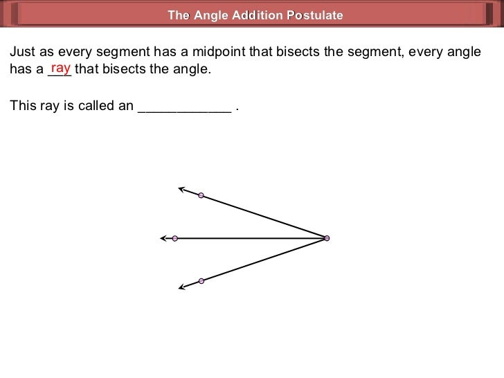 segment addition worksheet Termolak – Angle Addition Worksheet