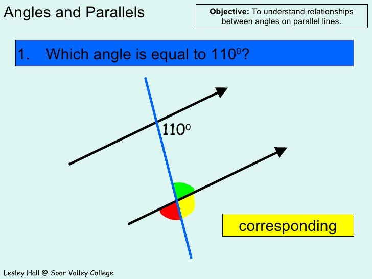 Angles And Parallels
