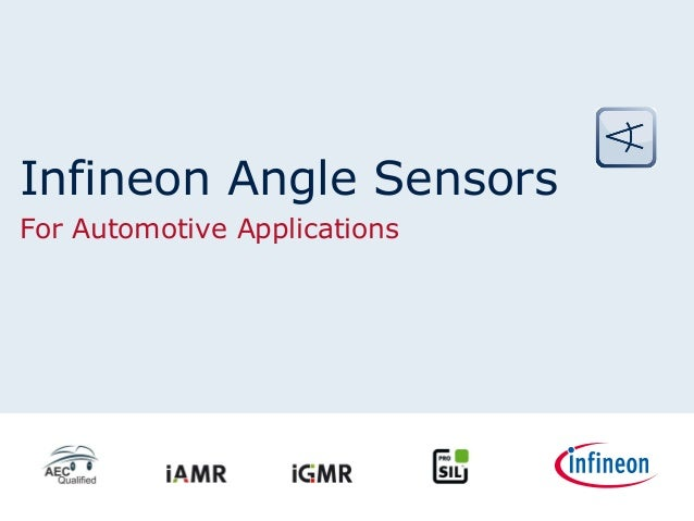 Infineon Angle Sensors for Automotive Applications